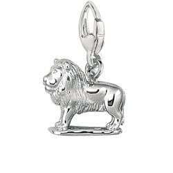 Sterling Silver Lion Charm