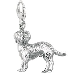 Sterling Silver Labrador Retriever Charm