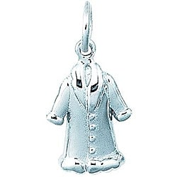 Sterling Silver Mink Coat Charm