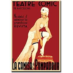 'Teatre Comic de Barcelona' Canvas Art