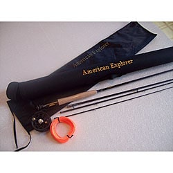 American Explorer 4-piece Fly Rod Set