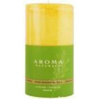 Relaxing Aromatherapy 2.75x5-inch Pillar Aromatherapy Candle