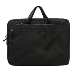 Pinder Bags Corner Office Black Nylon 15.4-inch Laptop Sleeve