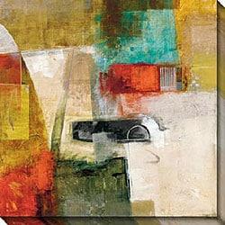 Bailey 'Linear II' Giclee Canvas Art