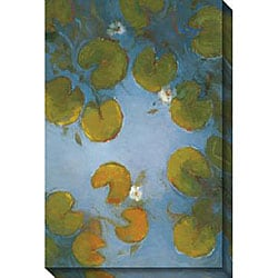 Kim Coulter 'Blue Pool I' Gallery-wrapped Canvas Art