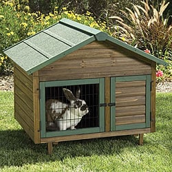 Precision Pet Rabbit Outdoor Multiplex Cage with Expandable Hutch