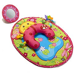 Tummy Time Fun Lady Bug Playmat