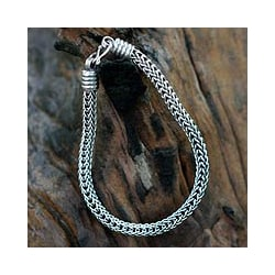 Men's 'Fire Dance' Bracelet (Thailand)