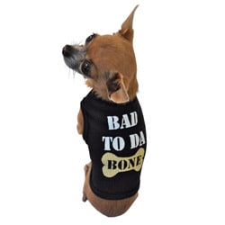 Bad To Da Bone Dog Tank Top