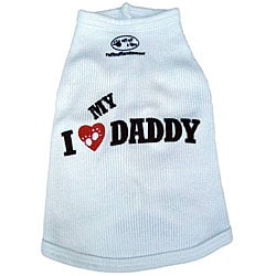 'I Love My Daddy' Dog's Tank Top