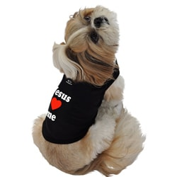Ruff Ruff and Meow 'Jesus Loves Me' Cotton Dog's Tank Top