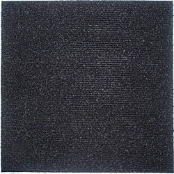 Do It Yourself Black Carpet Tiles (144 Square Feet)