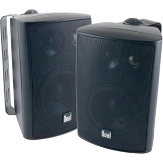 Dual LU43PB 50 W RMS - 100 W PMPO Indoor/Outdoor Speaker - 3-way - 2