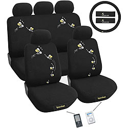 Bees 12-piece Automotive Seat Cover Set