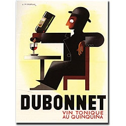 A.M. Cassandre 'Dubonnet' Canvas Art