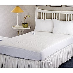 Warm and Cozy Plush Heated Electric Full-size Mattress Pad