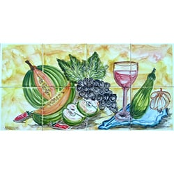 Kitchen Splashback 8-tile Ceramic Wall Mural