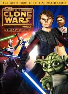 Star Wars: The Clone Wars - A Galaxy Divided (DVD) 5089122
