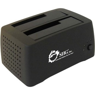 SIIG Cool Dual SATA to USB 2.0 Docking Station