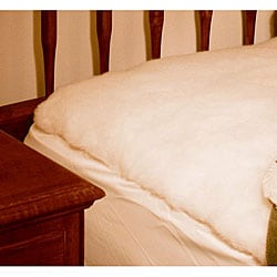 Twin-Sized Lambswool Mattress Pad