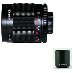 500M + T2-PK + 2X 500mm/ 1000mm F8.0 Mirror Lens
