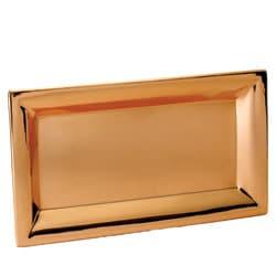 Heavy-gauge Copper-plated Steel Serving Tray