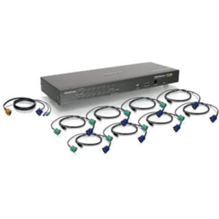 IOGEAR USB PS/2 Combo KVM Switch