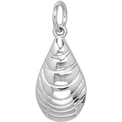 Sterling Silver 'Mussel Shell' Charm