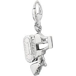 Sterling Silver Bull Dozer Charm