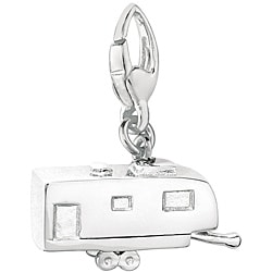 Sterling Silver 'Trailer' Charm