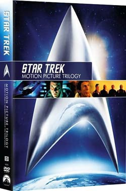 Star Trek: Motion Picture Trilogy (DVD) 5164504