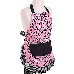 Chic Pink Girl's Original Flirty Apron 5192634