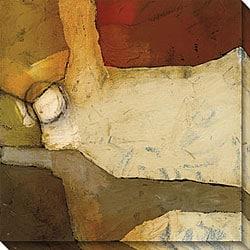 DeRosier 'Grand Gesture IV' Giclee Canvas Art