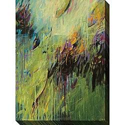 Karen Silve 'Blackberry I' Oversized Canvas Art