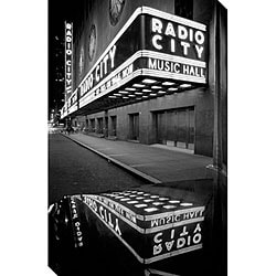 Michael Joseph 'Radio City Music Hall' Canvas Art