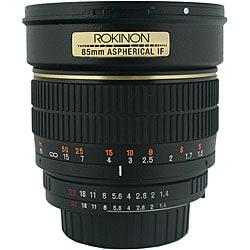 Rokinon 85mm f/1.4 Portrait Lens for Nikon Cameras