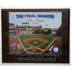 Shea Stadium Final Season Collectible Plaque