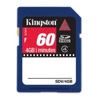 Kingston 4GB Secure Digital High Capacity (SDHC) Card - Class 4 - (2-
