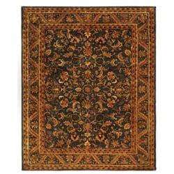 Safavieh Handmade Exquisite Blue/ Gold Wool Rug (8'3 x 11')