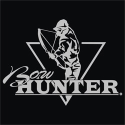 Upstream Images Bow Hunter Silver Window Decal 5305769
