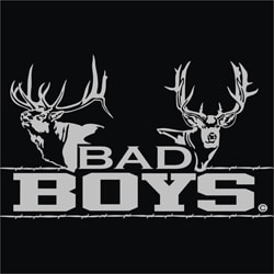 Upstream Images 'Bad Boys' Silver Window Decal