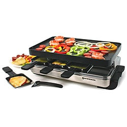 Swissmar 8-person Stelvio Raclette Party Grill