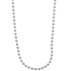 Sterling Essentials Sterling Silver 18-inch Bead Chain (1.5mm)