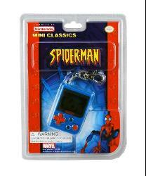 Spiderman Electronic Keychain Game