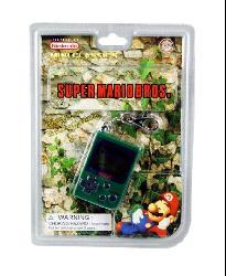 Super Mario Brothers Cement Factory Keychain Game