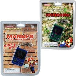 Super Mario Brothers Combo Keychain Game