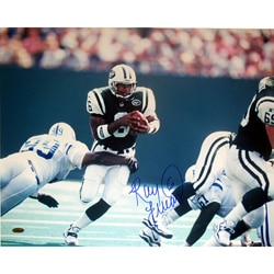 Ray Lucas Jets vs. Colts Signed 16x20 Photograph