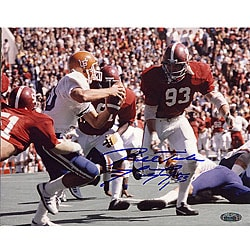 Alabama Crimson Tide Marty Lyons 'Roll Tide' 8x10 Autographed Photo 5393209