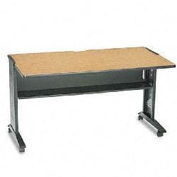 Safco Reversible Top Mobile Desk