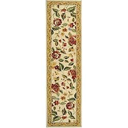 Safavieh Hand-hooked Boni Ivory/ Beige Wool Rug (2'6 x 10')